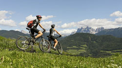 Mountainbiken in S�dtirol