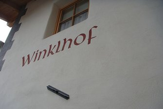 Winklhof - Prad am Stilfserjoch - Urlaub auf dem Bauernhof - Vinschgau